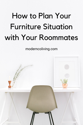 how to plan your apartment furniture decorating with roommates