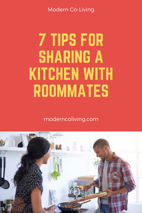 sharing a kitchen with roommates