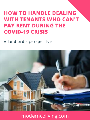 how to handle covid19 crisis as a landlord